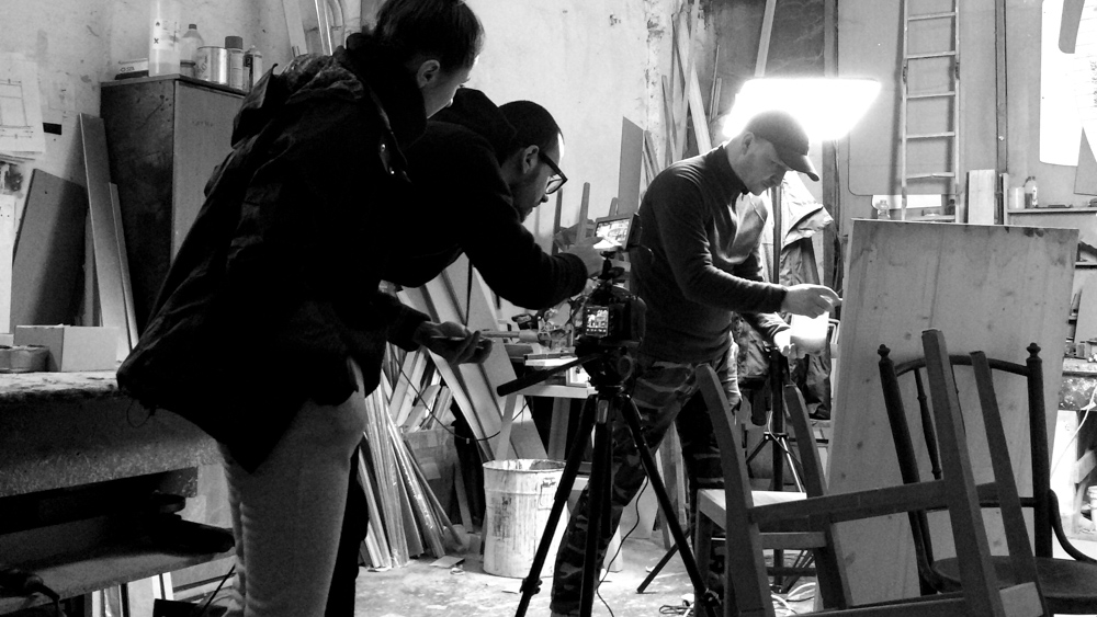 making-of Jolie Bistro The story commercial by popotam productions video agency