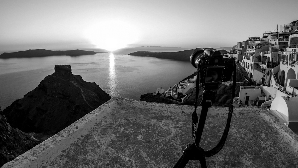 costin marian paravion santorini making-of timelapse the magic of santorini by popotam productions video agency