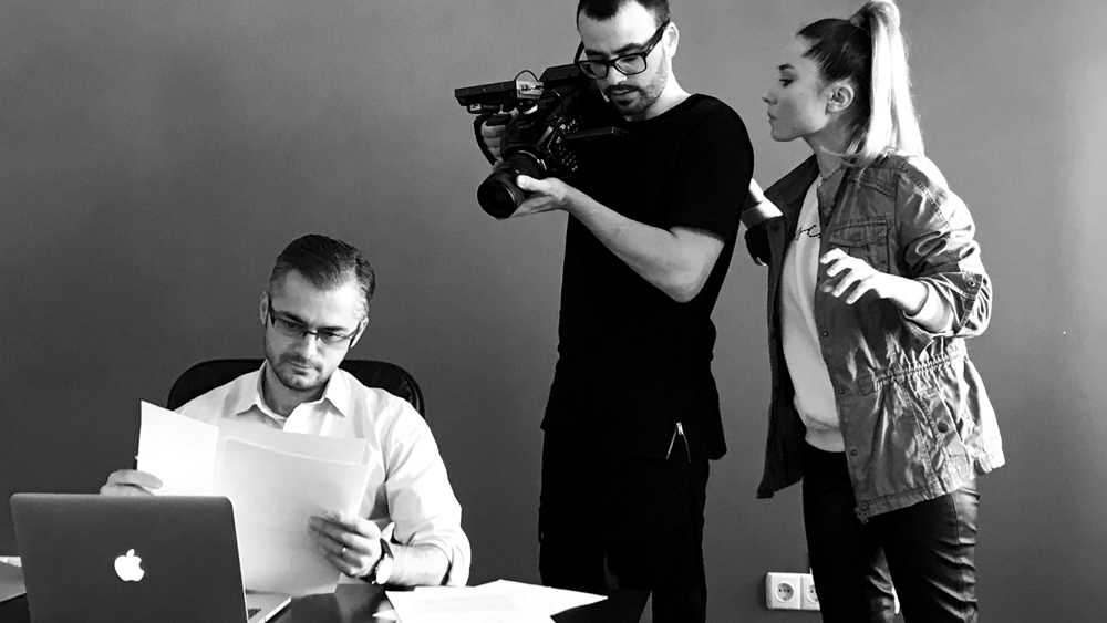 making-of tad james nlp commercial The Right Choice by popotam productions video agency maria nistor costin marian timisoara