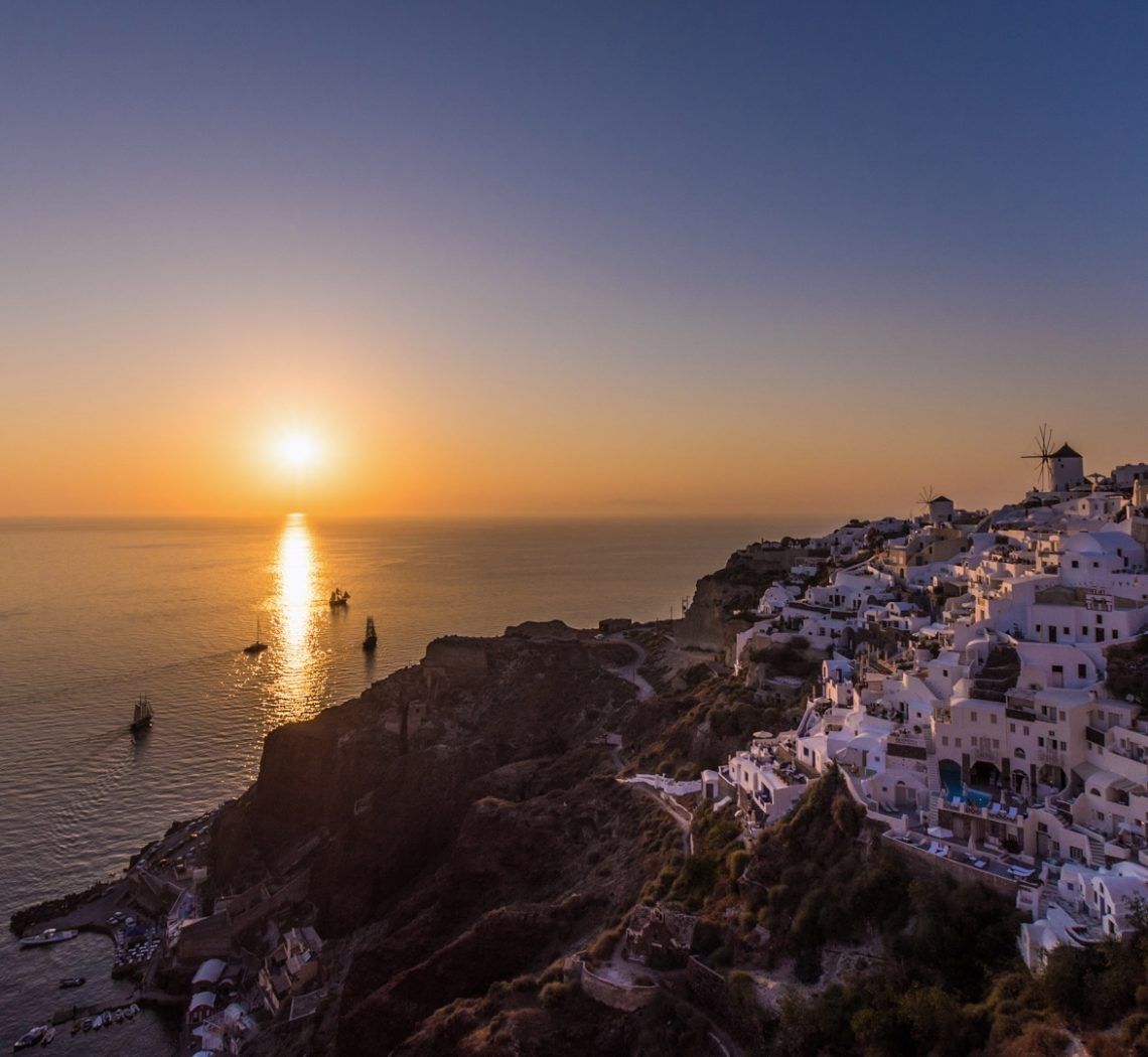 the magic of santorini paravion timelapse project by costin marian popotam productions video agency