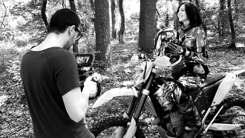 making-of tad james nlp commercial She by popotam productions video agency maria nistor costin marian ktm timisoara