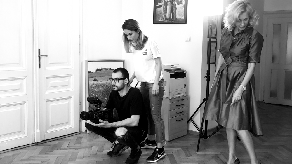 making-of tad james nlp commercial She by popotam productions video agency costin marian maria nistor bianca granieri