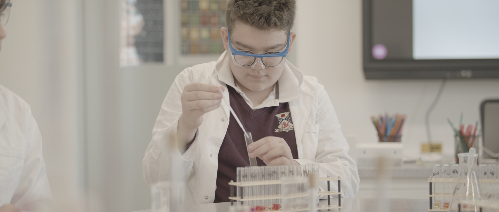 British International School of Timisoara commercial by popotam productions video agency before color grading