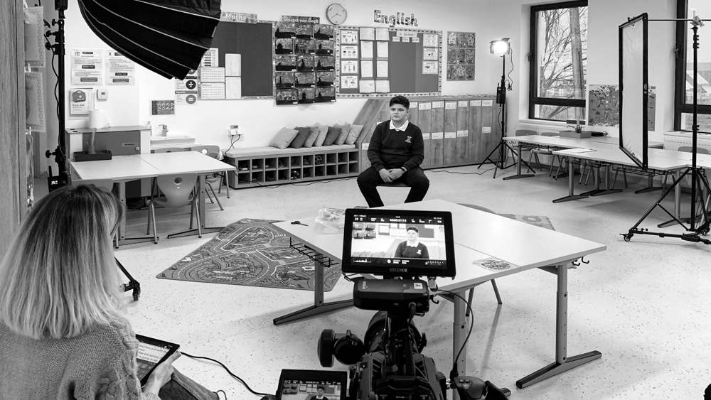 making-of British International School of Timisoara commercial by popotam productions video agency maria nistor