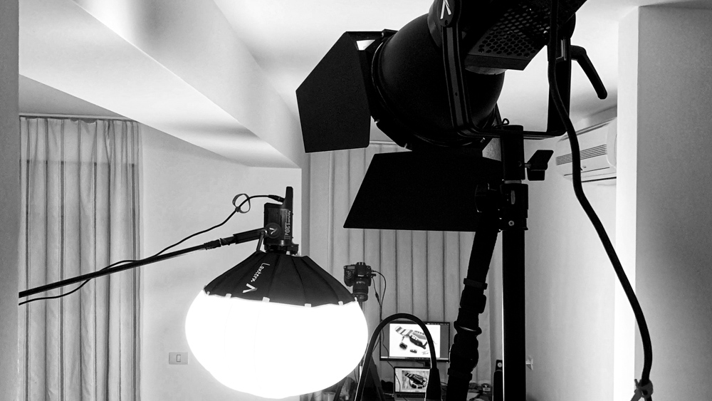 making-of our gear got life stop motion by popotam productions video agency timisoara manfrotto aputure lights