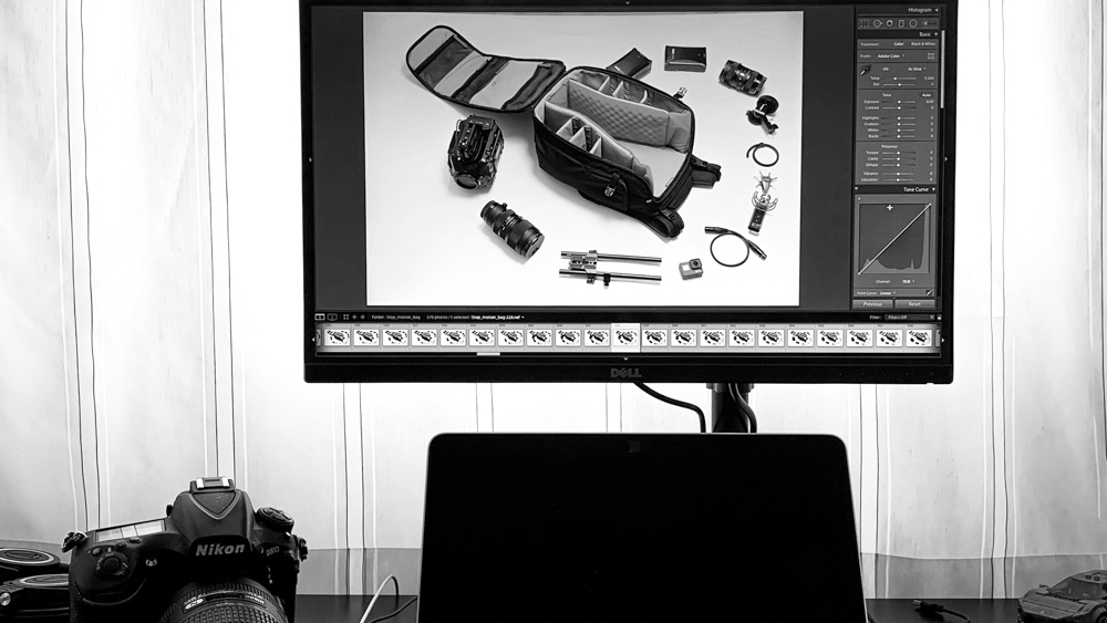 making-of our gear got life stop motion by popotam productions video agency timisoara manfrotto