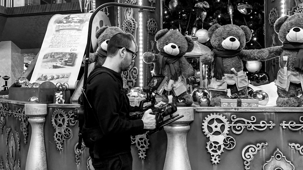 making-of iulius town teddy christmas by popotam productions video agency costin marian timisoara bear