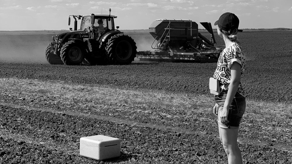 making-of mewi services video by popotam productions video agency timisoara maria nistor and maria nistor drone dji phantom 4 pro plus fendt tractor