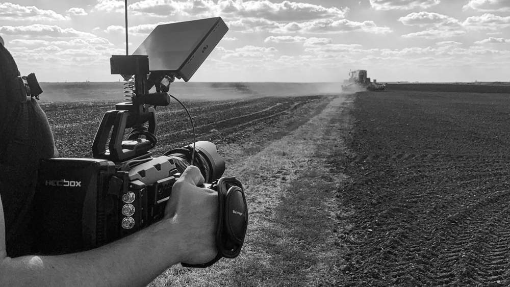 making-of mewi the farmers video by popotam productions video agency timisoara costin marian blackmagic ursa mini pro fendt tractor