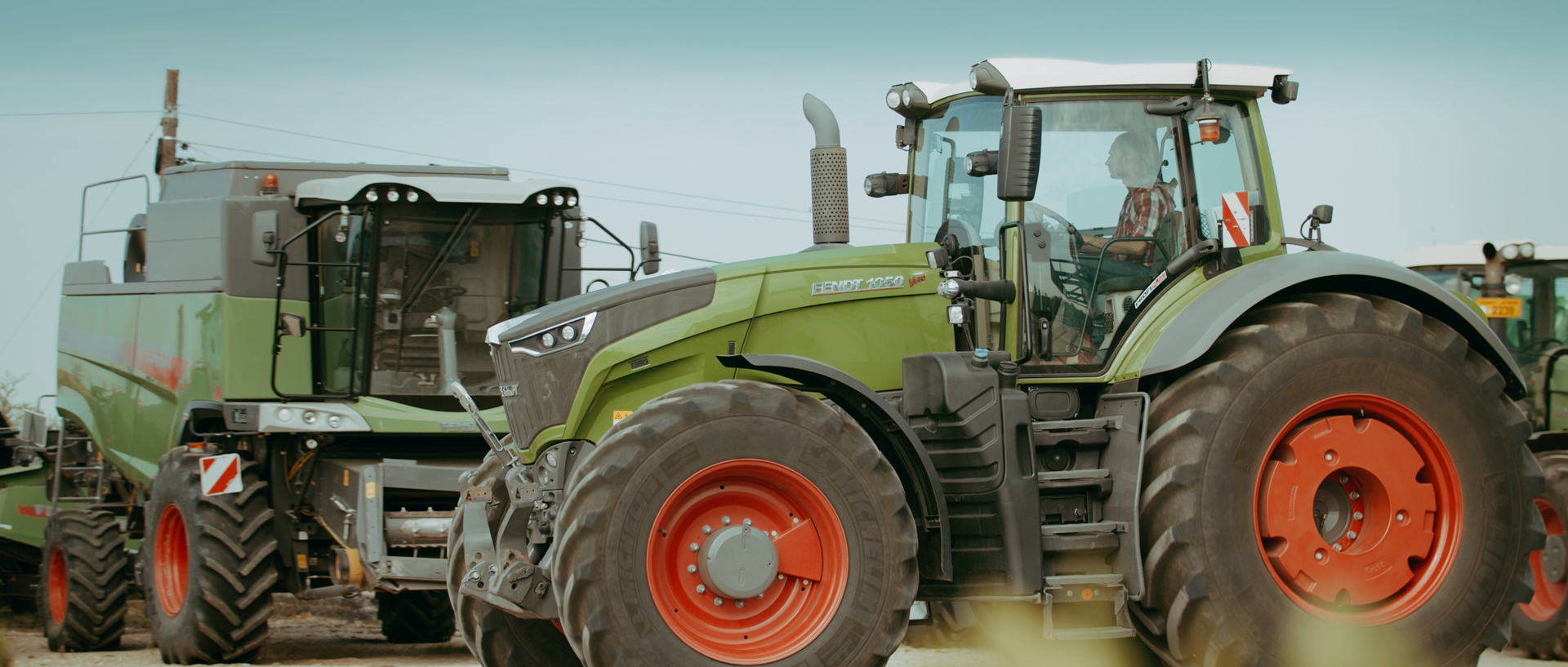 fendt 1050 tractor mewi services video by popotam productions video agency timisoara after color grading