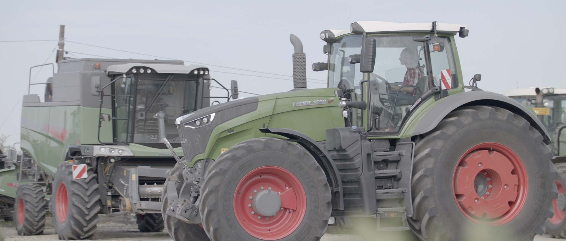 fendt 1050 tractor mewi services video by popotam productions video agency timisoara before color grading