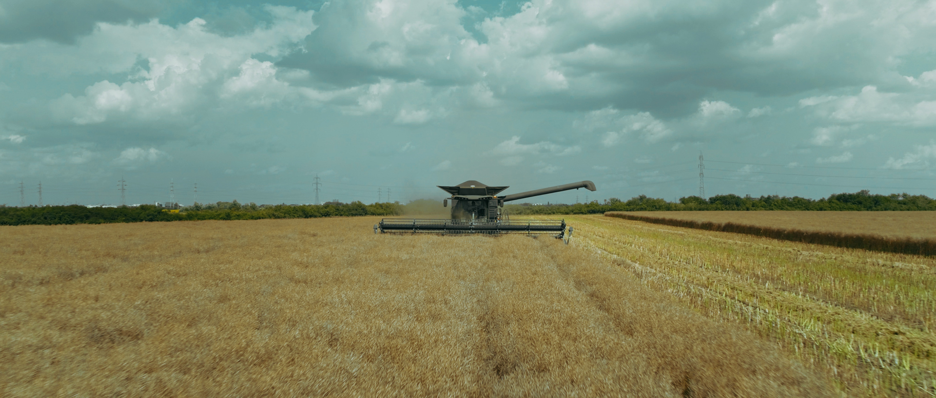 fendt ideal combine mewi services video by popotam productions video agency timisoara after color grading