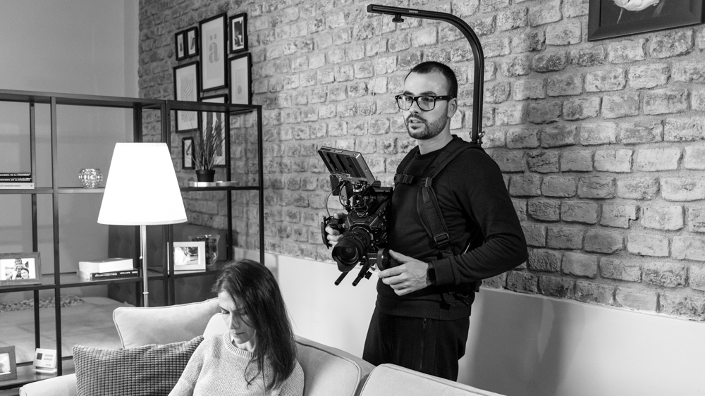 costin marian filming with blackmagic ursa mini pro making-of by popotam productions video agency timisoara